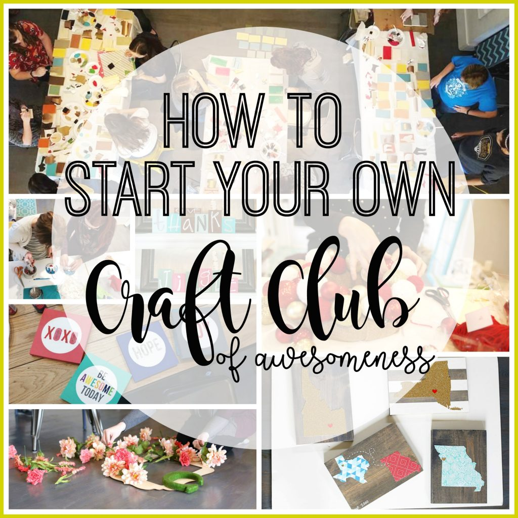 start-you-own-craft-club