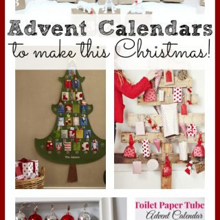 Advent calendars to make this christmas
