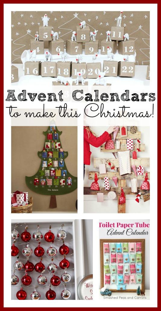 Self Made Christmas Calendar : Diy advent calendar awesomeness sugar bee crafts