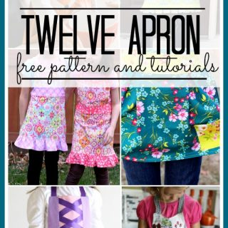 Apron patterns and tutorials