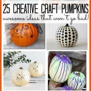 Creative craft pumpkins