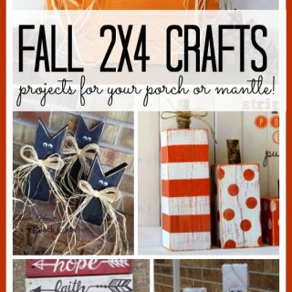 Fall 2x4 crafts