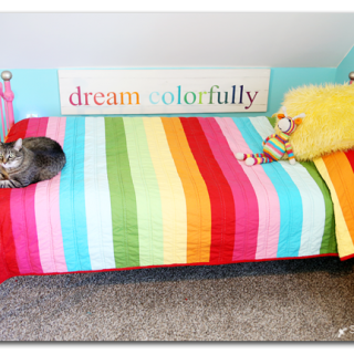Dream Colorfully DIY Sign
