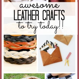 Leather crafts to try today