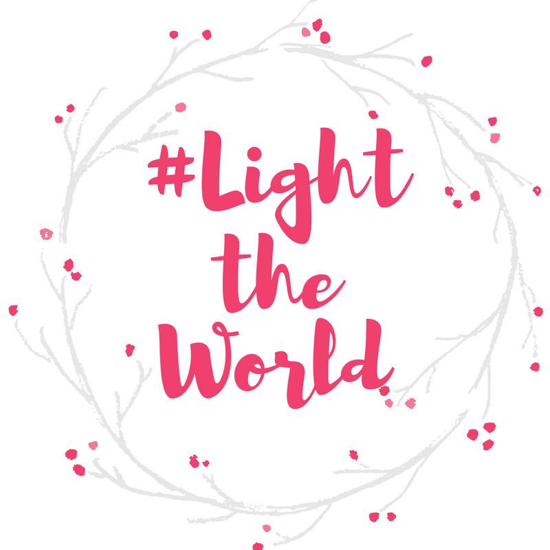 #lighttheworld free printable