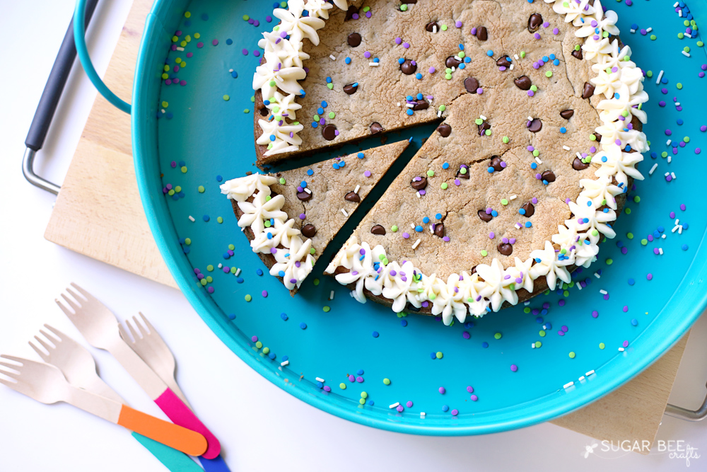The Best Ever Cookie Cake Recipe