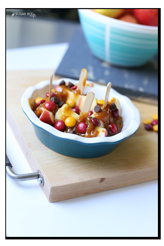 caramel-apple-boats-snack-idea