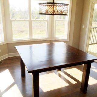 DIY Walnut Table Tutorial