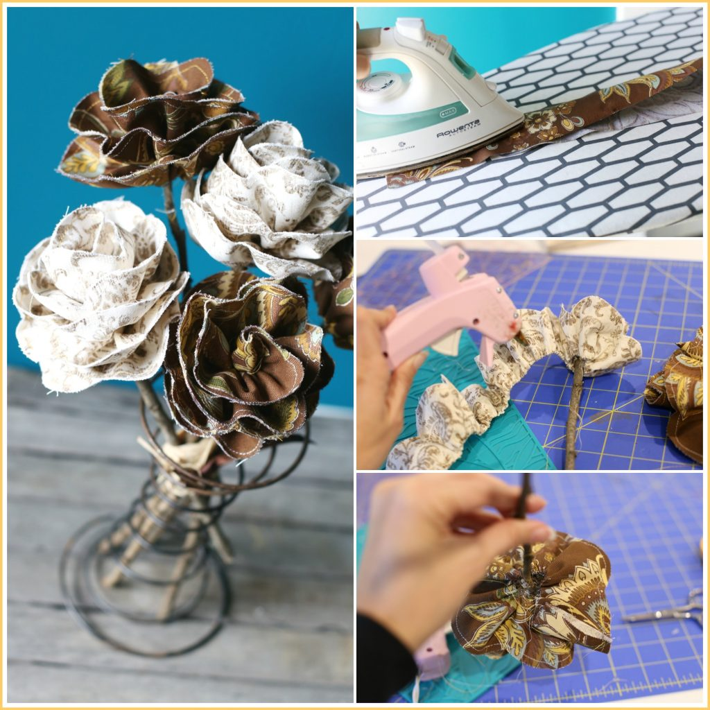 how-to-make-fall-fabric-flowers
