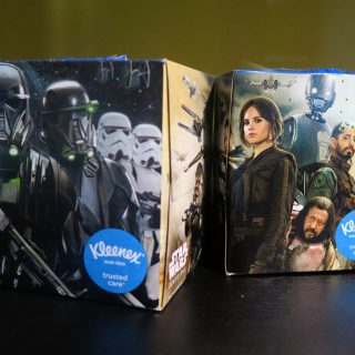 Kleenex box star wars