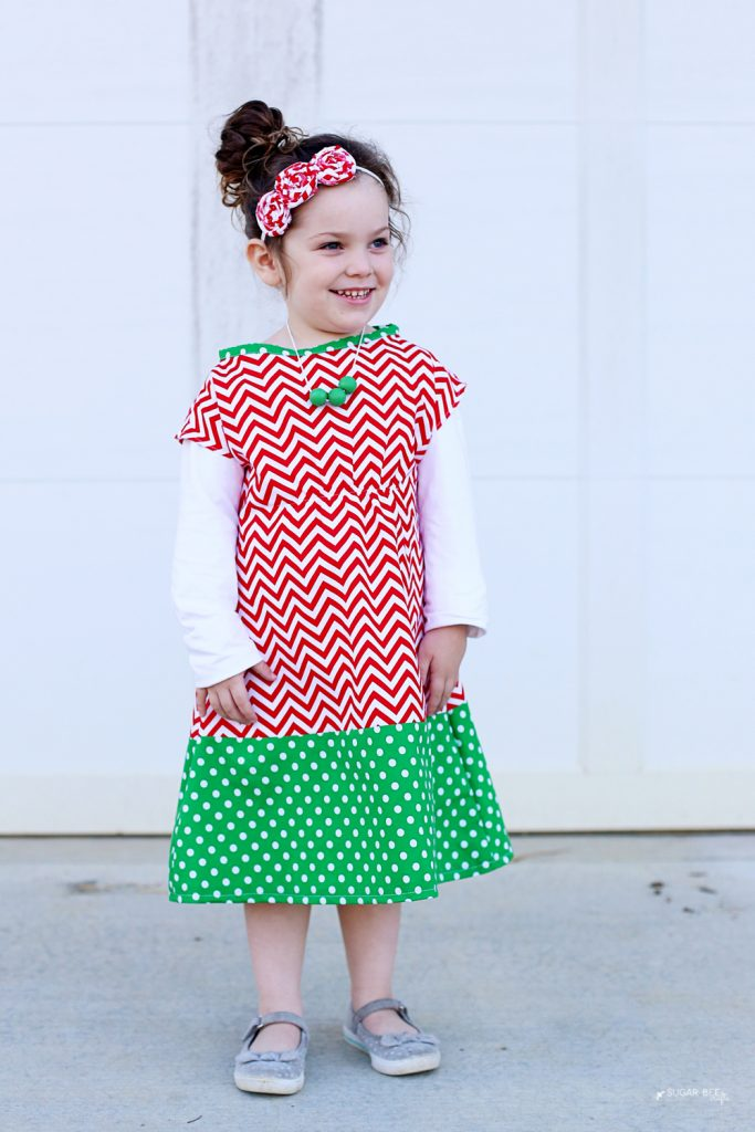 simple-diy-holiday-tunic-dress-chevron