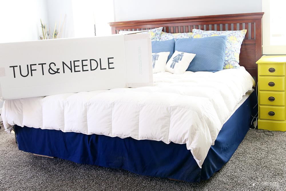 Tuft & Needle honest mattress review Sugar Bee Crafts
