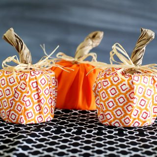 Waverly pumpkins craft idea