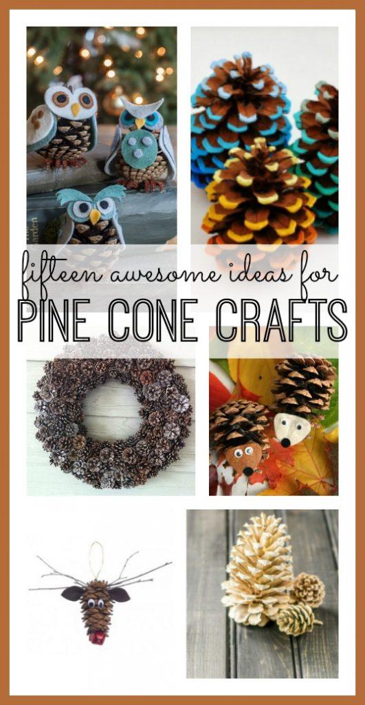 Pine cone craft ideas sugar bee crafts for Pine cone craft ideas