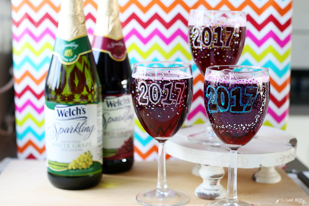 f82d756e969 ... Wine Glasses. #BringTheSparkle this holiday season! sparkling-grape -juice-new-years-kids-idea