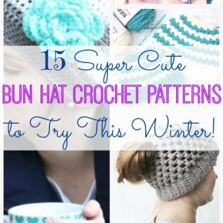 Bun hat crochet patterns