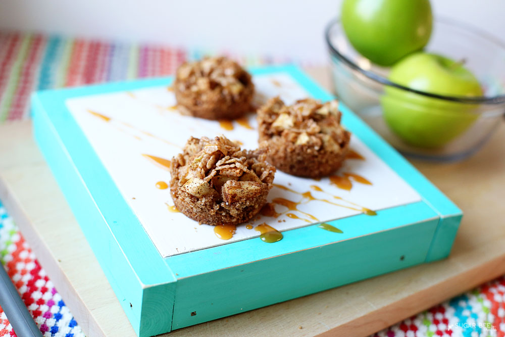 apple crisp cups cinnamon