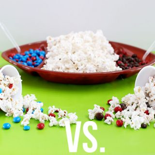 Game Day Head-to-Head Popcorn Bar