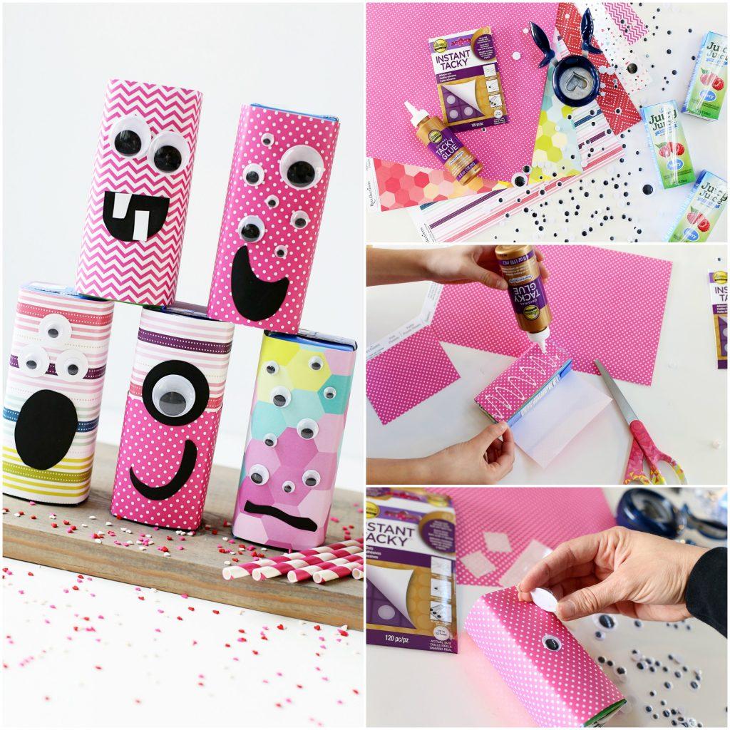 valentine juice box craft idea