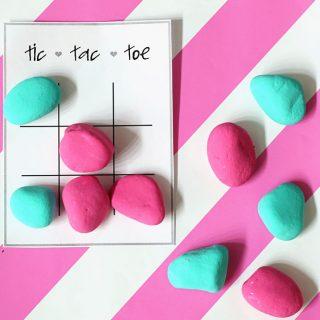 You Rock Valentine Tic Tac Toe