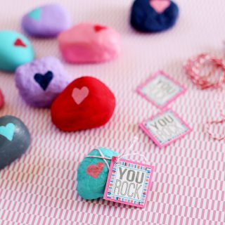 you rock simple valentine idea
