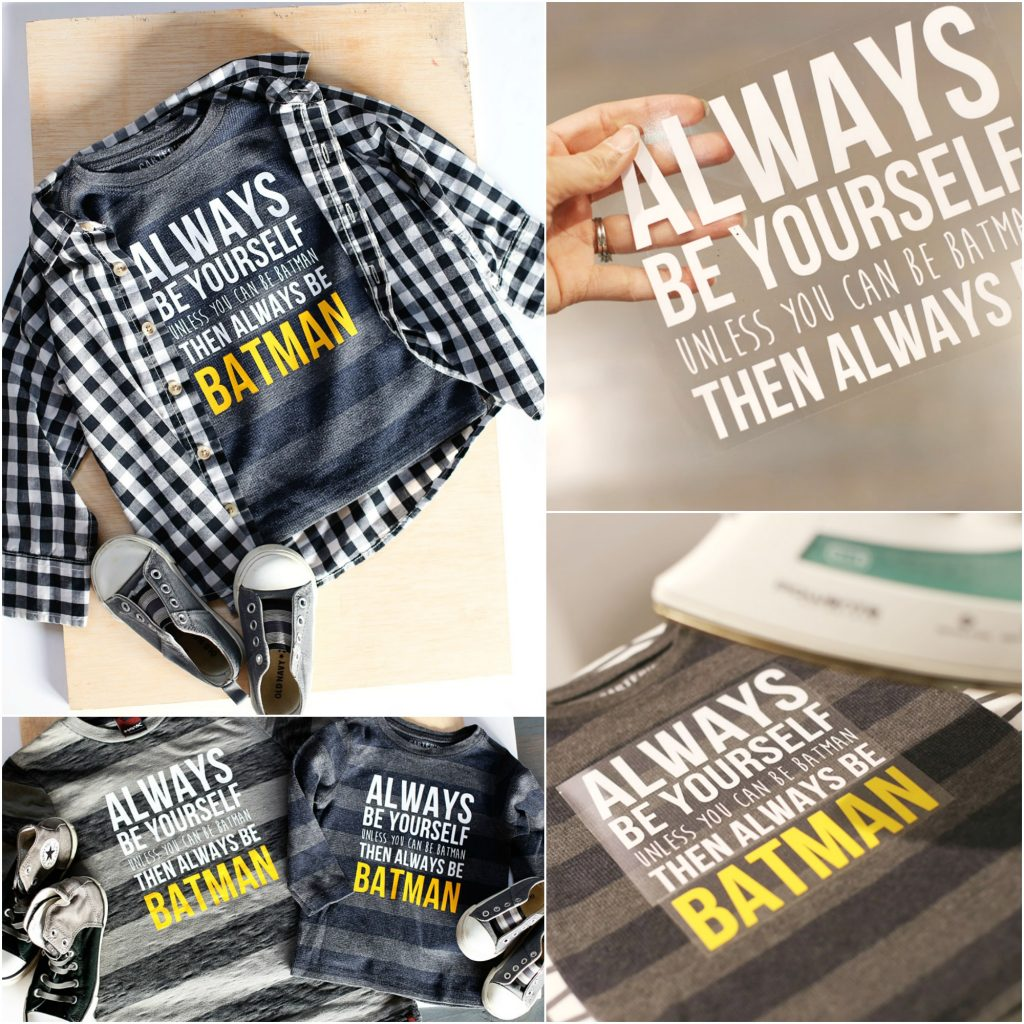 always be batman collage