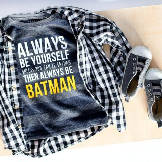 Always be batman diy free cut file