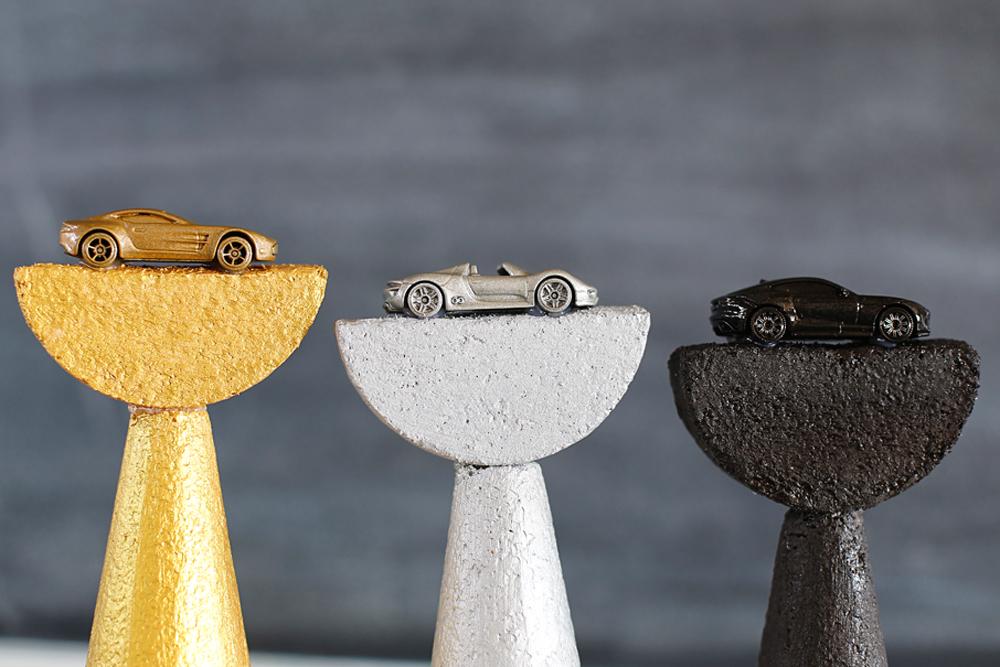 car trophy detail