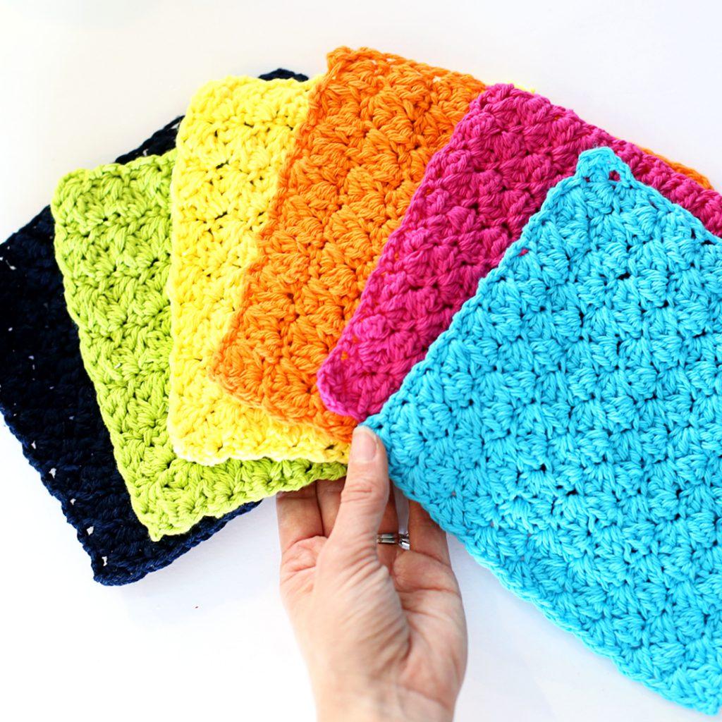 crochet dishcloths IG