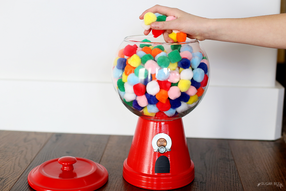 diy faux gumball machine
