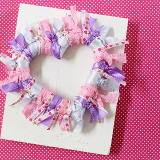Diy ribbon wreath tutorial