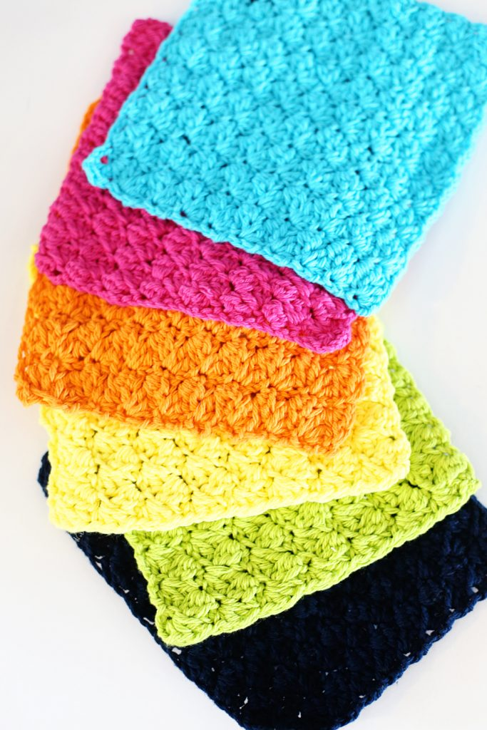 Crochet Free Pattern Dishcloth : Crochet Dishcloths - Sugar Bee Crafts