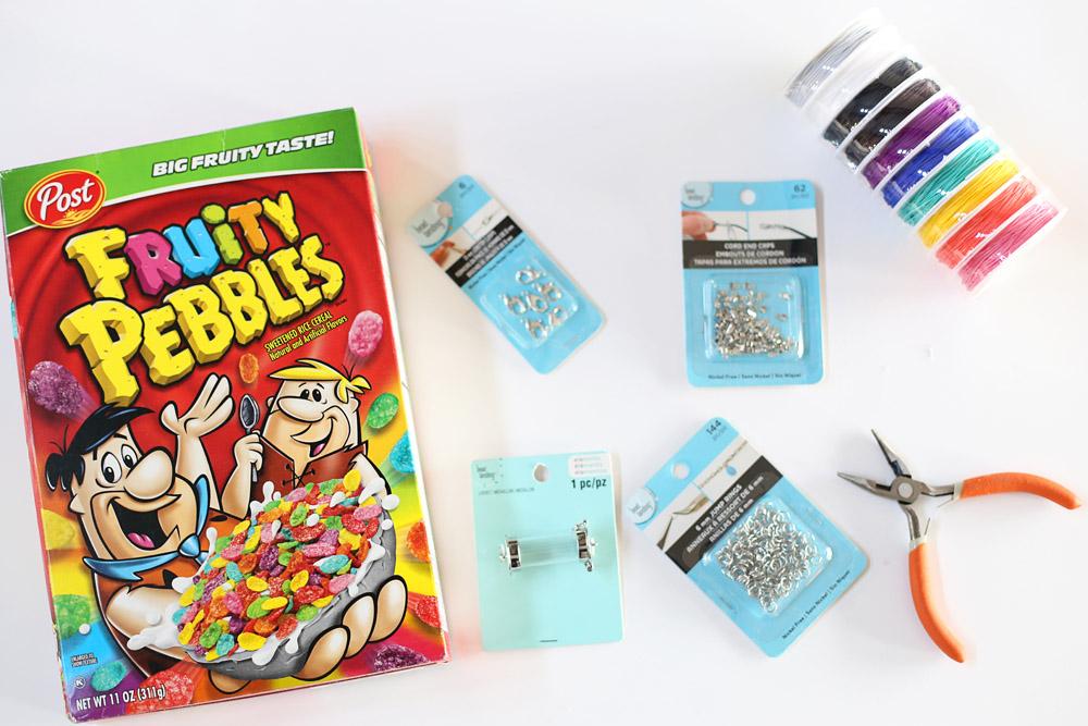 fruity pebbles craft idea