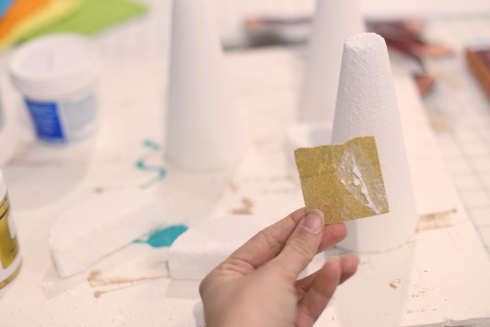 sand smooth finish foam
