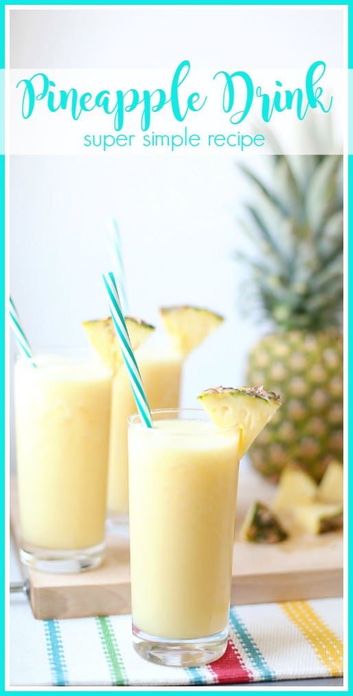 simple Pineapple Drink recipe
