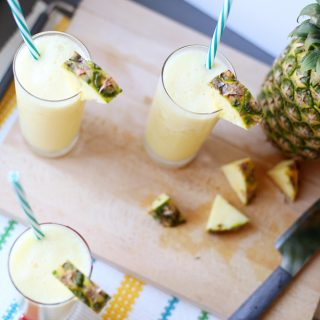 Simple pineapple drink