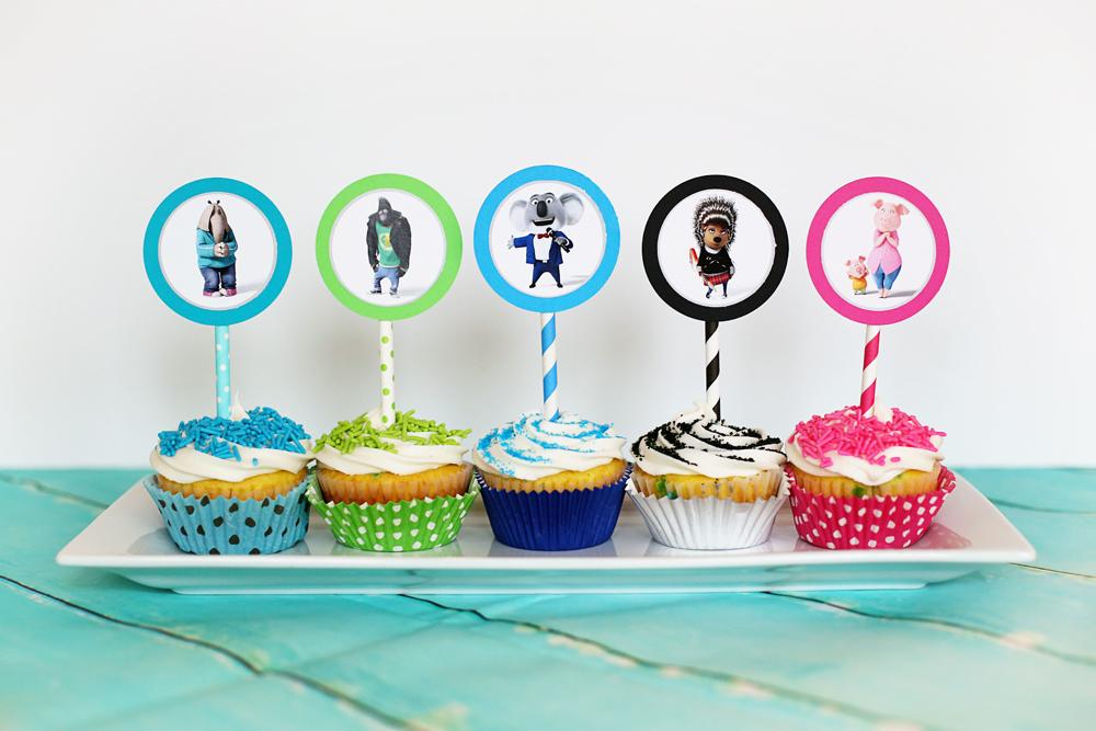 Sing cupcakes
