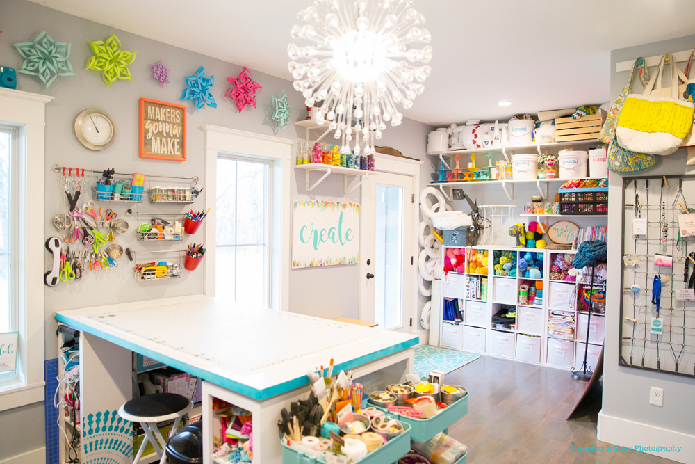 Craft room tour sugar bee crafts craft room view solutioingenieria Choice Image
