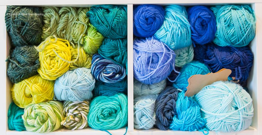 craft room yarn 2