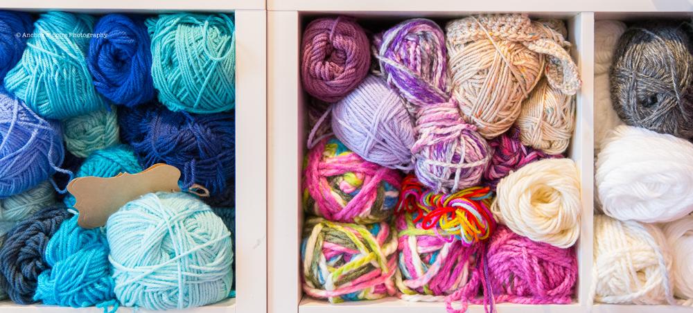 craft room yarn 3