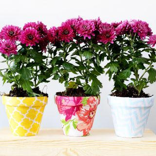 diy fabric pots decor