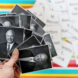 LDS Prophet and Apostles Matching Cards, Conference Game