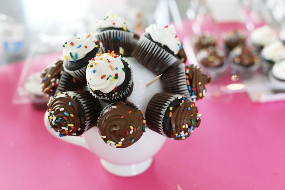 cupcake ball in a mug