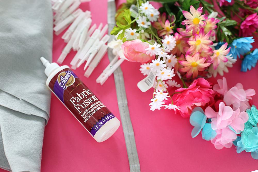 floral crown supplies