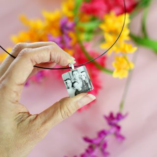 Photo pendant diy