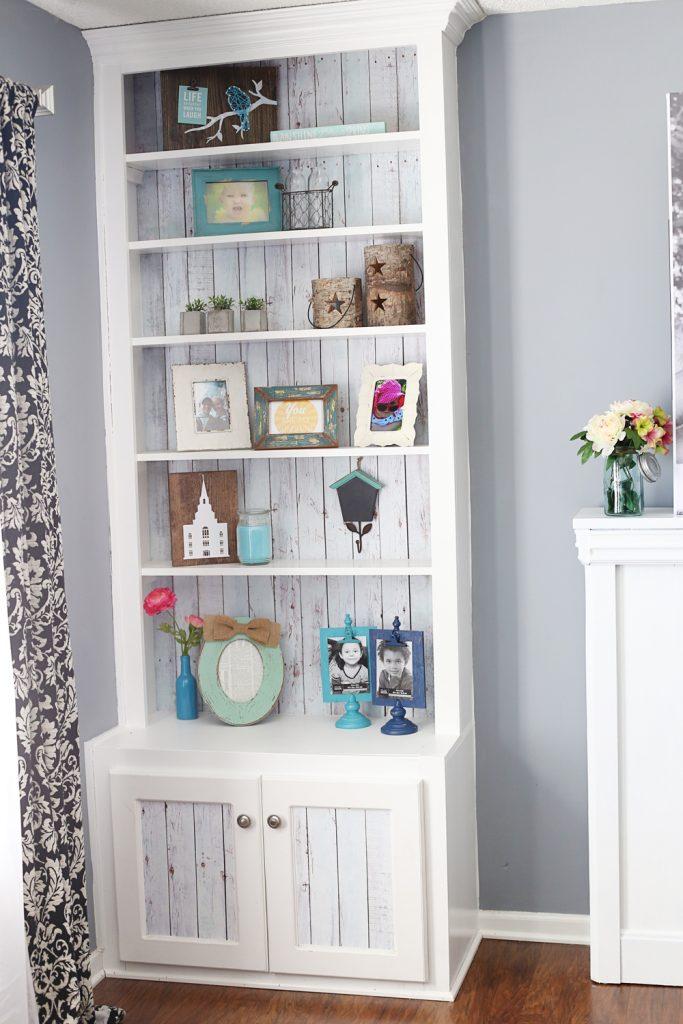 styled bookshelf 2