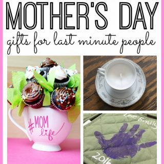Last minute diy mothers day