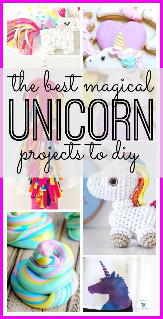 Unicorn DIY projects