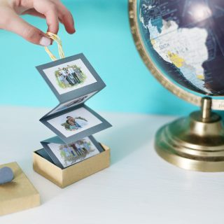 Accordion Photo Box