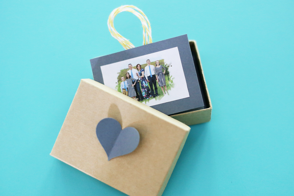 accordion photo box diy